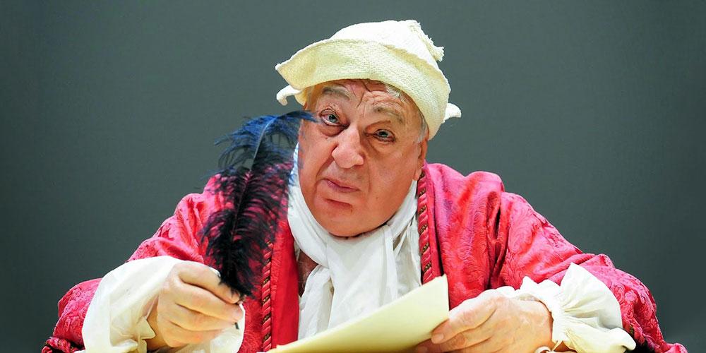 Paolo Bonacelli ne Il malato immaginario