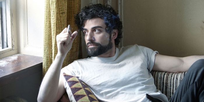 Oscar Isaac in una scena del film