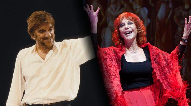 Gigi Proietti e Simona Marchini