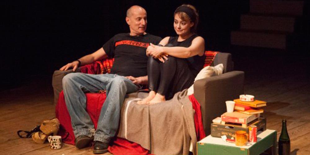Elena Arvigo e Roberto Rustioni in scena