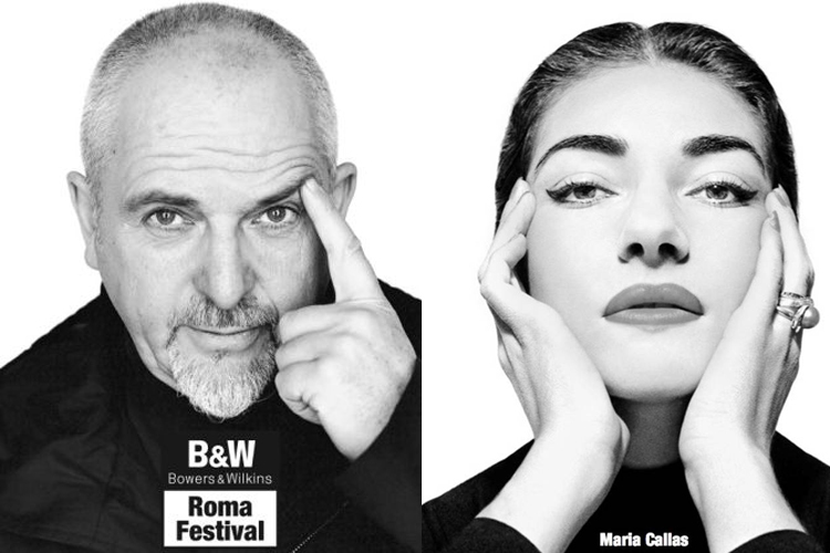 Peter Gabriel e Maria Callas