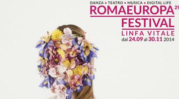Locandina Romaeuropa - Festival 2014