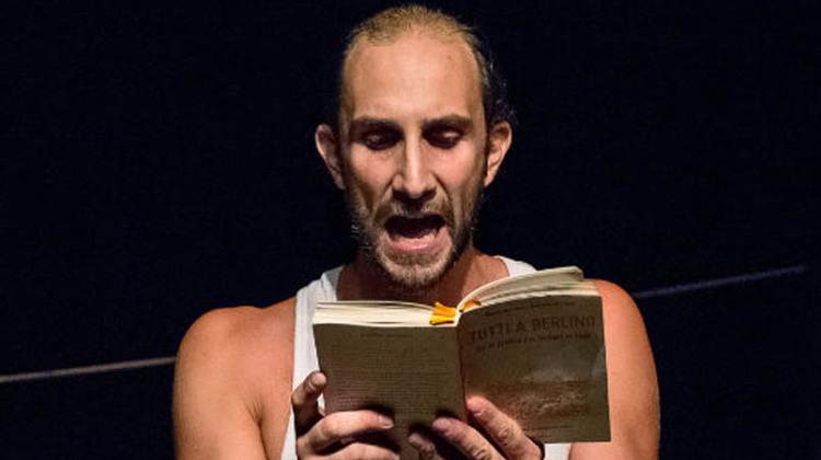 Valerio Malorni in scena