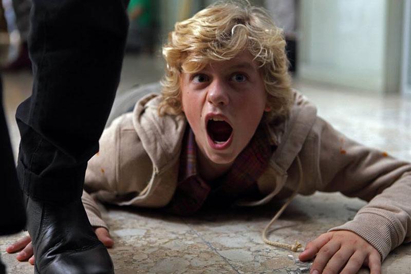 """Ludovico Girardello in """"Il ragazzo invisibile"""" di Gabriele Salvatores (foto Claudio Iannone)"""