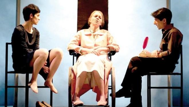 Iris Fusetti,  Monica Samassa e Fausto Paravidino