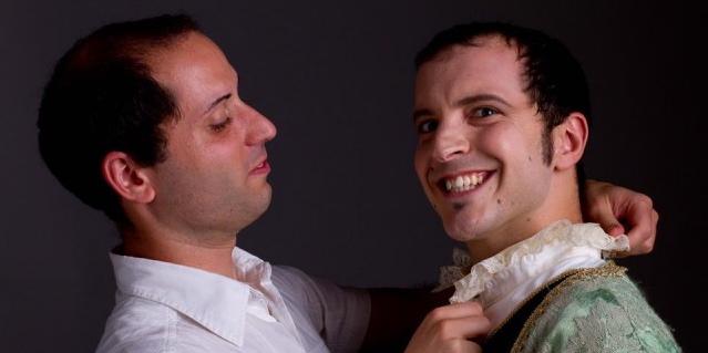Ivan Bellavista e Matteo Di Girolamo in scena