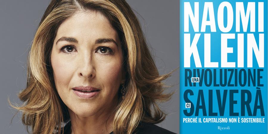 Naomi Klein e la copertina del suo nuovo libro