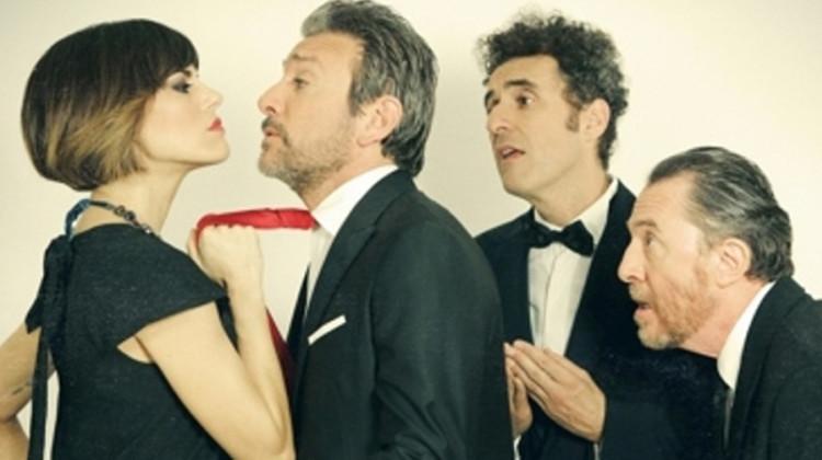 Bianca Guaccero, Sergio Assisi, Fabrizio Sabatucci e Giancarlo Ratti