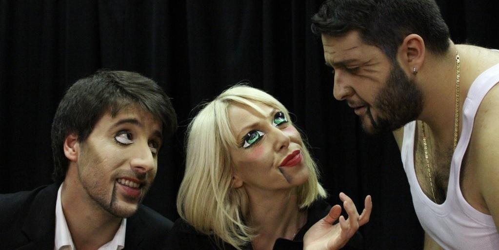 Davide Poggioni, Alessia Carbonaro e Stefano Roselli