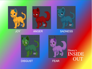 I gatti di Inside Out