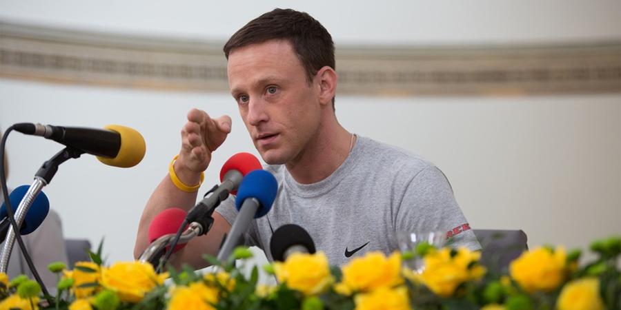 Ben Foster nei panni di Lance Armstrong
