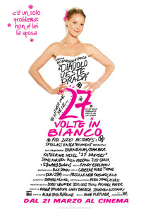 27 volte in bianco poster