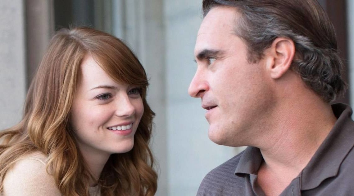 Emma Stone e Joaquin Phoenix