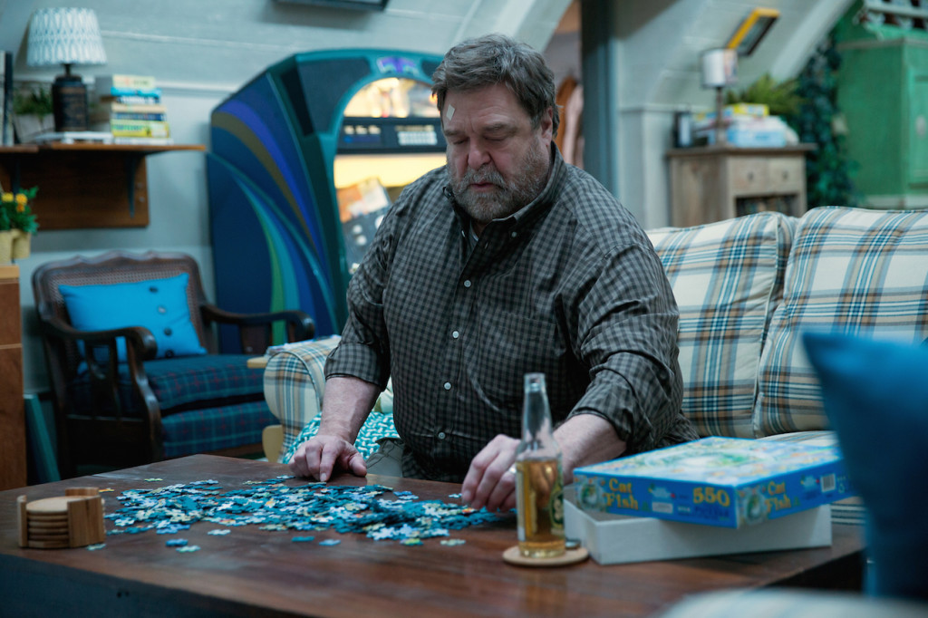 John Goodman as Howard in 10 CLOVERFIELD LANE; by Paramount Pictures