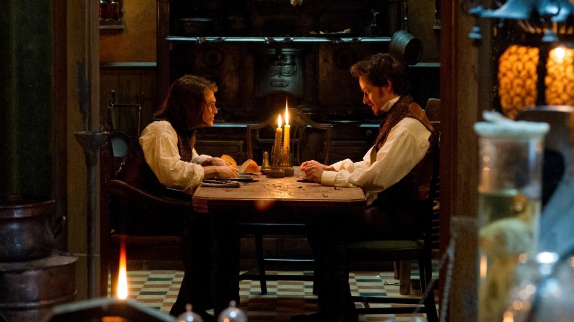 James McAvoy e Daniel Radcliffe