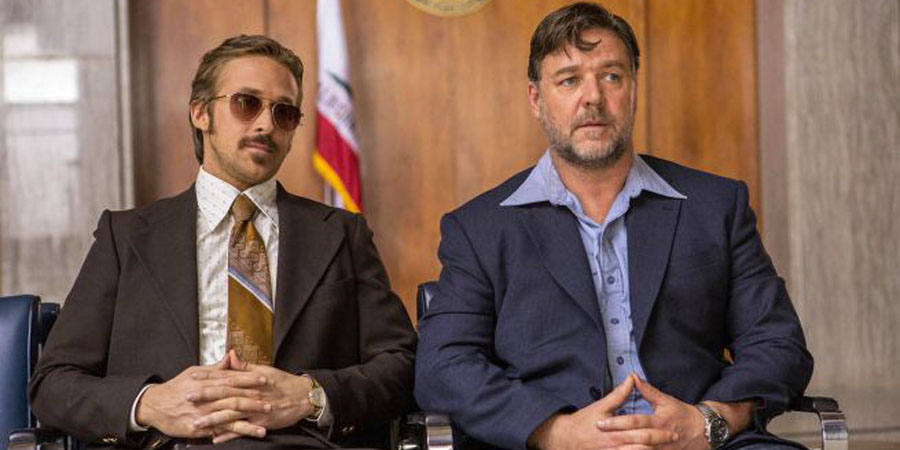 Ryan Gosling e Russell Crowe