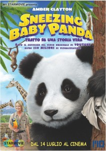 Snazing Baby Panda - locandina
