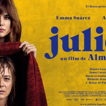 La locandina spagnola del film di Almodovar, Julieta