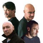 Stefano Randisi, Enzo Vetrano, Danio Manfredini ed Enrico Castellani