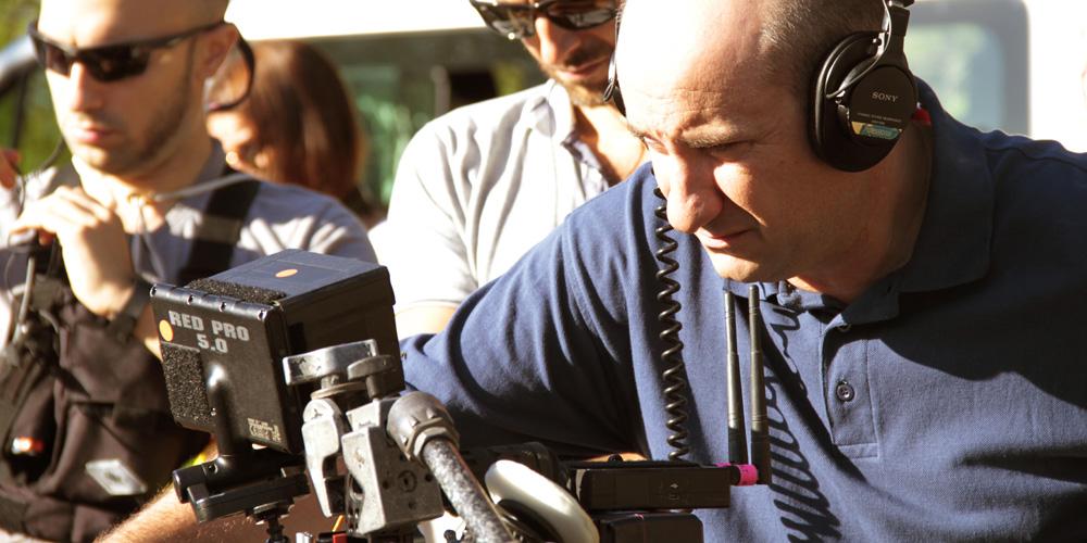 """Antonio Albaese sul set di """"A Casa"""""""