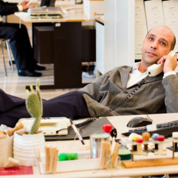 "Checco Zalone in ""Quo vado?"" (Taodue film)"