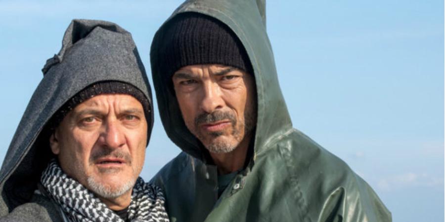Claudio Bisio e Alessandro Gassmann