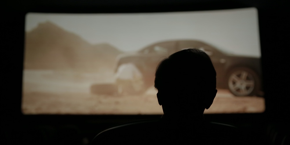 Antonio Sancassani in sala al cinema Mexico