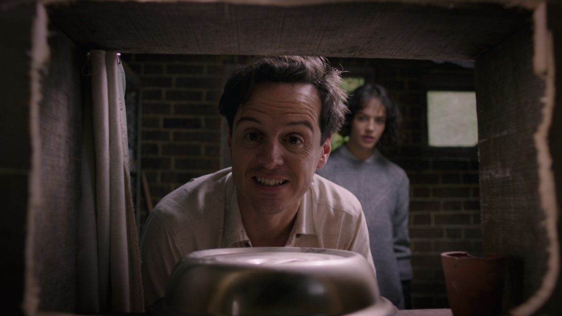Andrew Scott e Jessica Brown Findlay