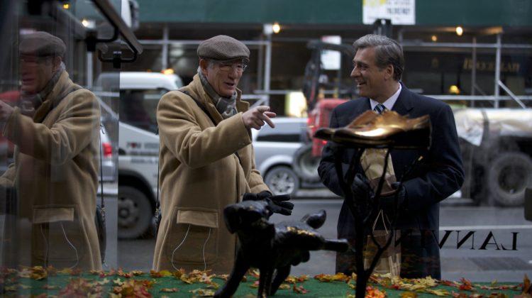 Richard Gere e Lior Ashkenazi in una scena del film