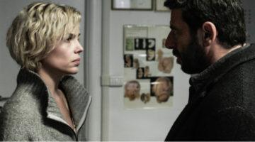 Micaela Ramazzotti e Patrick Bruel in una scena