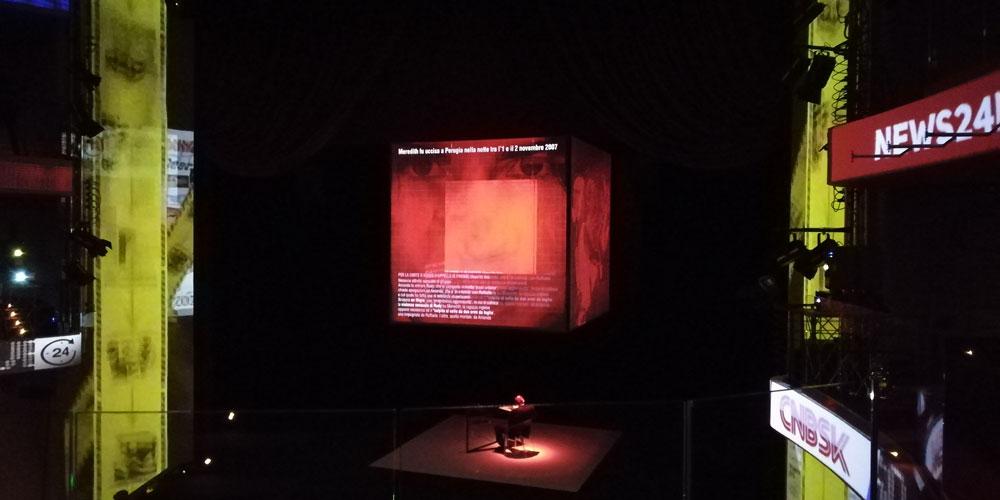 Il penitente al Teatro Eliseo (ph. Fabio Melandri)