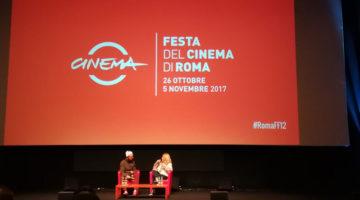 Chuck Palahniuk alla Festa del Cinema di Roma (ph. Fabio Melandri)