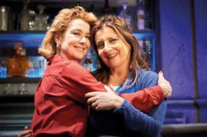 Monica Guerritore e Francesca Reggiani