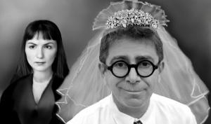 Pino Strabioli e  Alice Spisa