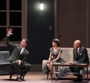 """Maurizio Lombardi, Valeria Milillo e Luca Zingaretti in una scena di """"The Pride"""""""