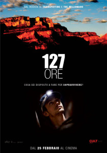 127 ore poster