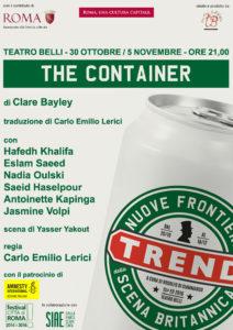 Locandina della 15ª edizione di Trend – Nuove frontiere della scena britannica