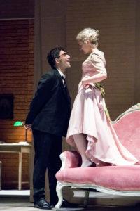 Filippo Timi e Marina Rocco in scena