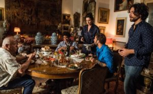 Nella foto Luisa Ranieri, Peppe Barra, Antonio Braucci, Antonio Grosso e Antonio Solito. Foto di Gianni Fiorito