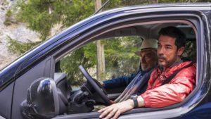 Gigi Proietti e Alessandro Gassmann in una scena