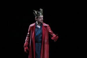 Alessandro Averone in Richard II. Foto di Paolo Porto